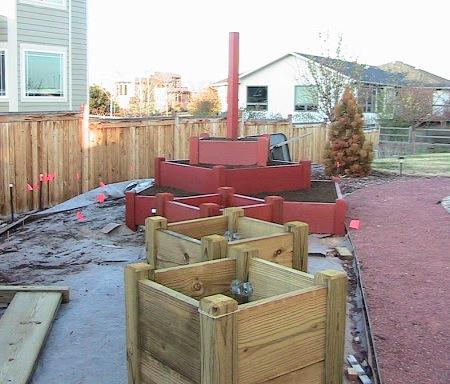 The Berry Garden Construction
