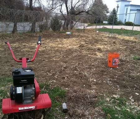 Jason and Julie's Peaceful Diesel Garden Gets Built!